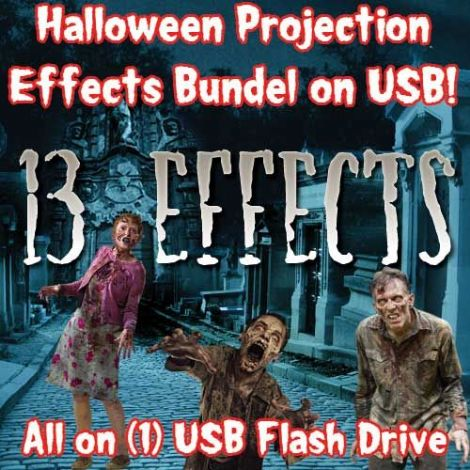 HOLIDAY PROJECTION USB HALLOWEEN BUNDLE